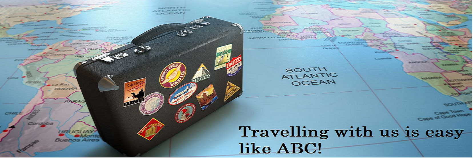 Travelling with us is easy like ABC!